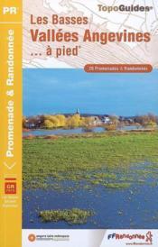 Basses vallées angevines à pied ; 49 - pr - p492 - Couverture - Format classique