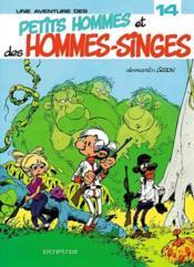 Les Petits Hommes Et Des Hommes Singes - Couverture - Format classique