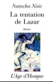 La Tentation De Lazar - Couverture - Format classique