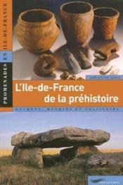 L'Ile-de-France de la préhistoire - Couverture - Format classique