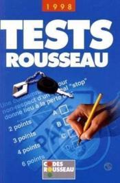 Tests Rousseau 1998 - Couverture - Format classique