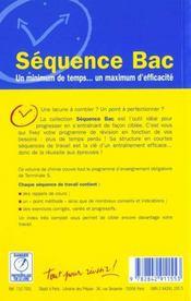 Chimie terminale s ; enseignement obligatoire - 4ème de couverture - Format classique