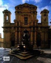 La Sicile baroque - 4ème de couverture - Format classique