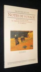 Notes de voyages en basse bretagne - Couverture - Format classique