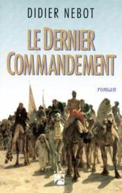 Le dernier commandement - Couverture - Format classique