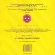 L'automath ; le livre - 4ème de couverture - Format classique