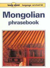 Mongolian phrasebook 1 - Intérieur - Format classique