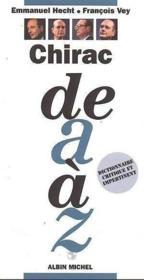 Chirac De A A Z - Couverture - Format classique