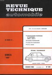 Revue Technique Automobile - N°262 - Couverture - Format classique