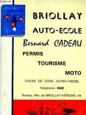 Briollay - Auto-Ecole - Couverture - Format classique