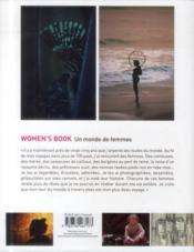 Women's book - 4ème de couverture - Format classique