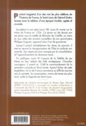 Saint Louis - 4ème de couverture - Format classique