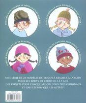 Tricot A Gogo Creations Pour Enfants - 4ème de couverture - Format classique