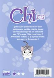 Chi ; une vie de chat T.12 ; Chi a des soucis - 4ème de couverture - Format classique