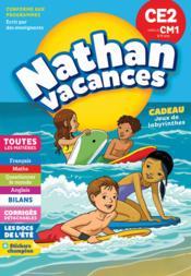 NATHAN VACANCES ; toutes les matières ; du CE2 vers le CM1 ; 8/9 ans (édition 2018) - Couverture - Format classique