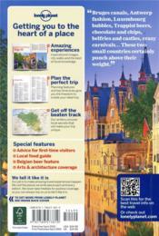Belgium & Luxembourg (7e édition) - 4ème de couverture - Format classique