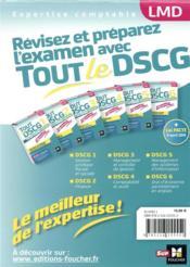 Tout le DSCG 1 ; gestion juridique fiscale et sociale ; révision (3e édition) - 4ème de couverture - Format classique