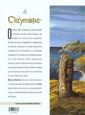 Claymore t.2 ; comme des loups affamés - 4ème de couverture - Format classique