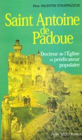 St Antoine De Padoue - Couverture - Format classique