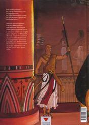 Sur les terres d'Horus t.1 ; Khaemouaset ou la loi de Maât - 4ème de couverture - Format classique