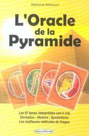 Oracle de la pyramide (l') - Intérieur - Format classique