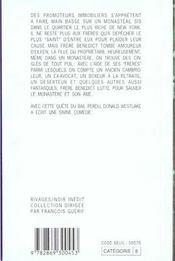 Droles de freres - 4ème de couverture - Format classique