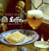 A Table Avec Leffe - Couverture - Format classique