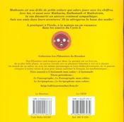 L'automath ; mon cahier - 4ème de couverture - Format classique