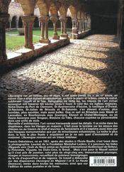Les tresors de l'auvergne romane - 4ème de couverture - Format classique