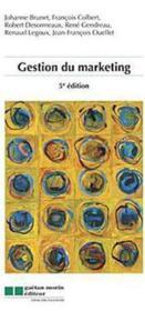 Gestion du marketing (5e. édition) - Couverture - Format classique