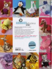 30 animaux astucieux en tissus - 4ème de couverture - Format classique