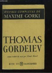 Thomas Gordeiev - Couverture - Format classique