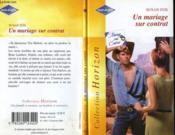 Un Mariage Sur Contrat - Marriage On Demand - Couverture - Format classique