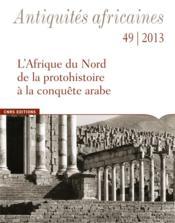 Etudes D'Antiquites Africaines N.49 - Couverture - Format classique