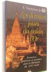 Les Derniers Jours Du Palais D'Or - Intérieur - Format classique