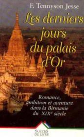 Les Derniers Jours Du Palais D'Or - Couverture - Format classique