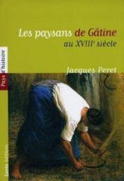 Paysans De Gatine Au Xviiieme Siecle - Couverture - Format classique