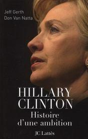 Hillary, histoire d'une ambition - Intérieur - Format classique