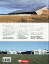 30 bâtiments pour loger les vaches - 4ème de couverture - Format classique