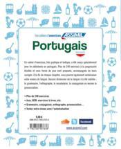 Portugais ; débutants - 4ème de couverture - Format classique