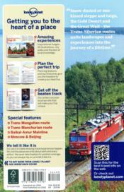 Trans-siberian railway (6e édition) - 4ème de couverture - Format classique