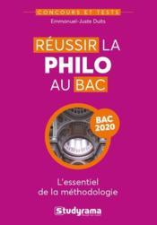 Réussir la philo au bac (édition 2020) - Couverture - Format classique
