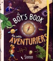 Le boys' book des petits aventuriers - Couverture - Format classique
