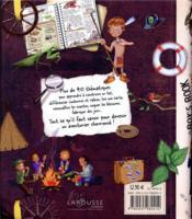 Le boys' book des petits aventuriers - 4ème de couverture - Format classique