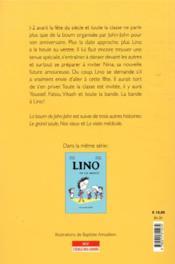 Encore Lino - 4ème de couverture - Format classique