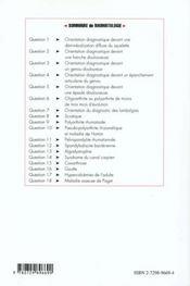 Rhumatologie - 4ème de couverture - Format classique