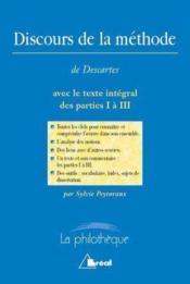 Le discours de la méthode de Descartes - Couverture - Format classique