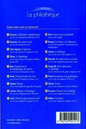 Le discours de la méthode de Descartes - 4ème de couverture - Format classique