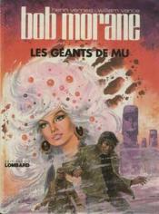 Bob Morane t.1 ; les géants de Mu - Couverture - Format classique