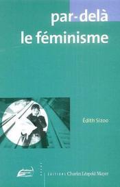 Par-delà le féminisme - Couverture - Format classique
